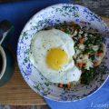 Mushroom & Kale Quinoa Breakfast Bowl2