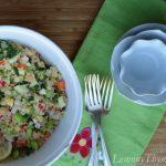 Quinoa & Raw Veggie Salad