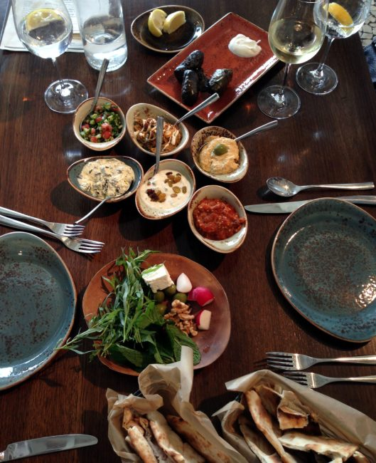 Rumi's Kitchen Appetizer Sampler