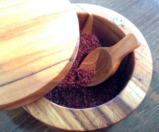 Ground Dried Sumac Berries