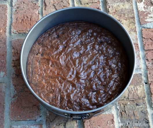Chocolate Truffle Pirouette Cake