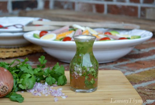 Honey Ginger Vinaigrette with Shallot & Cilantro2