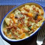Cheesy Butternut Squash Pasta Bake1