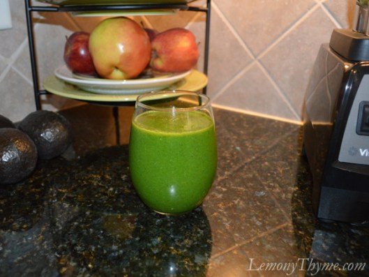 Going Green Smoothie2