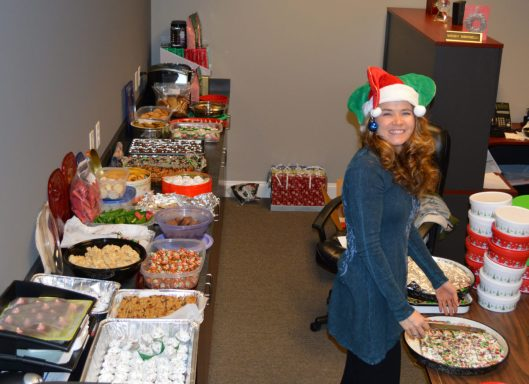 Pepper Minstix ~ this year's Office Cookie Elf.