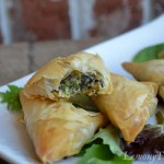Spinach Phyllo Triangles10