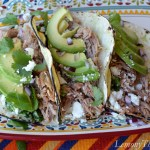 Shredded Pork Tacos with Chimichurri Sauce3