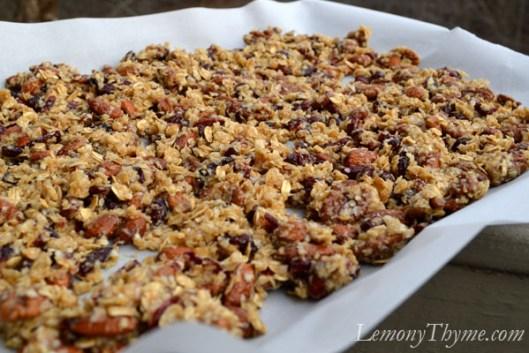 Vanilla, Almond & Cranberry Quinoa Granola4