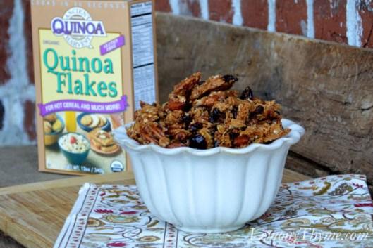 Vanilla, Almond & Cranberry Quinoa Granola5