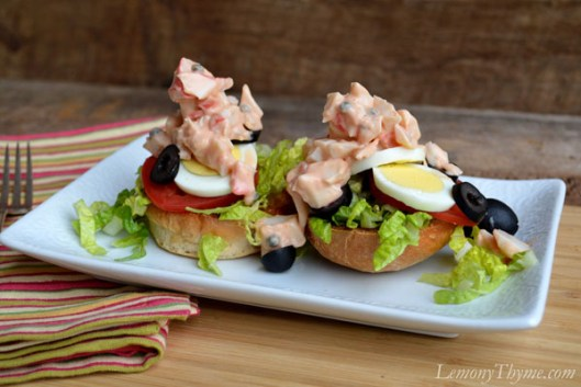 Crab Louie Sliders