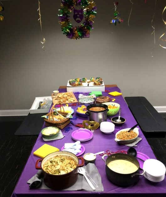 The Mardi Gras Spread
