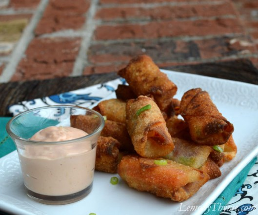 Corned Beef & Cabbage Egg Rolls with Russian Dressing2