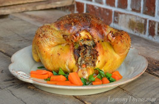 Double Stuffed Roast Chicken