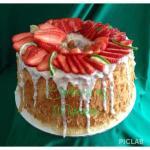 Key Lime Chiffon Cake