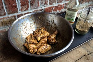 Mardi Gras Chicken Wings Coating