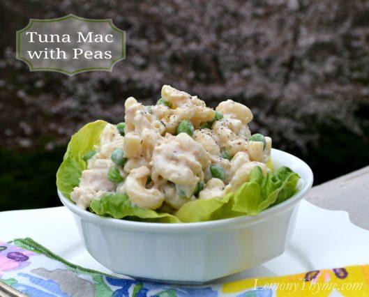 Tuna Mac with Peas from Lemony Thyme