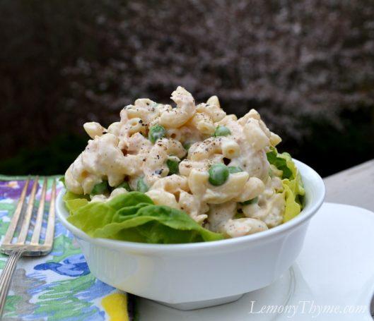Tuna Mac with Peas