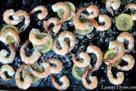 Italian Herb & Lemon Roasted Shrimp5