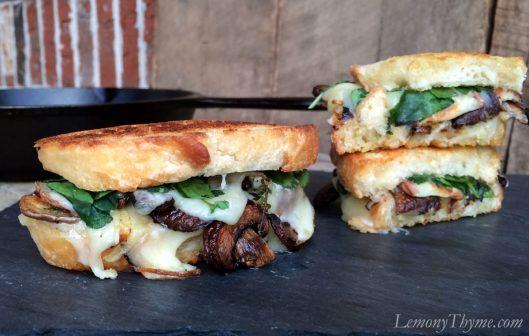 Mushroom & Thyme Truffled Grilled Cheese Sandwich1