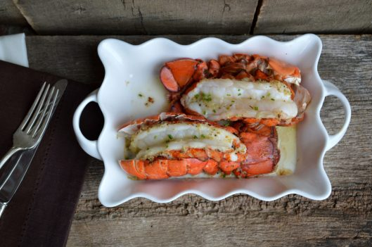 Oven Baked Lobster Tails