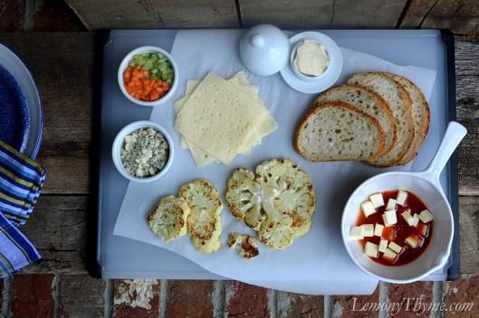 Roasted Buffalo Cauliflower Grilled Cheese3