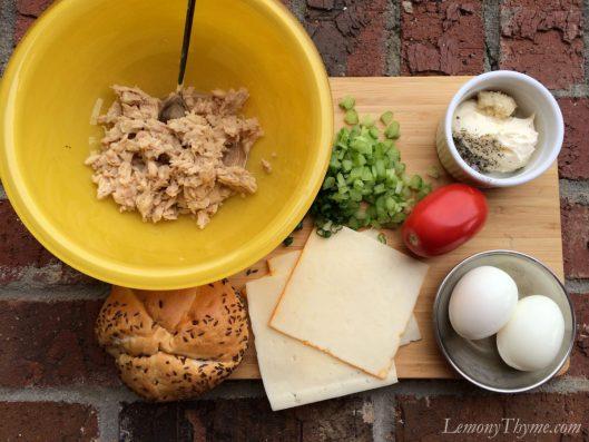 Tuna Melt Grilled Cheese Sliders1