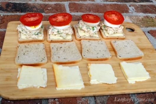 Tuna Melt Grilled Cheese Sliders3