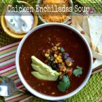 Chicken Enchiladas Soup from Lemony Thyme