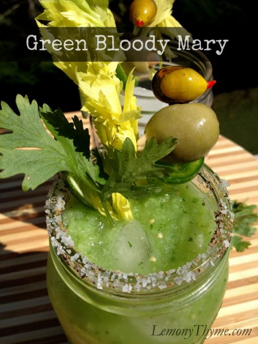 Green Bloody Mary from Lemony Thyme
