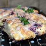 Lemony Thyme & Blackberry Scones8
