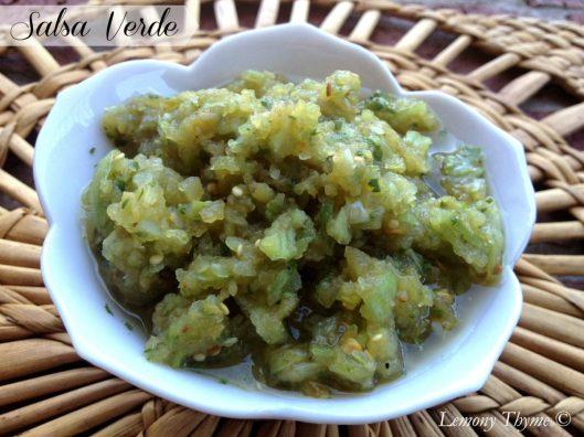 Salsa Verde from Lemony Thyme