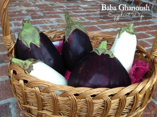 Baba Ghanoush Eggplant Dip