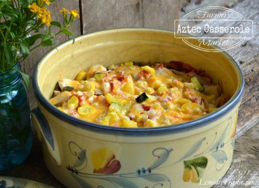 Farmers Market Aztec Casserole from Lemony Thyme