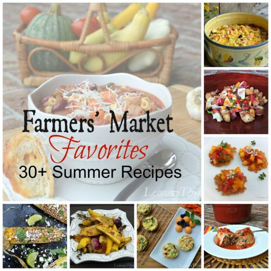 Farmers Market Favorites Collage