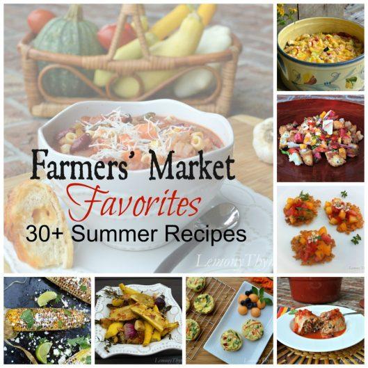 Farmers Market Favorites Collage