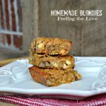 Homemade Blondies