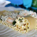 Seafood Lasagna Roll Ups