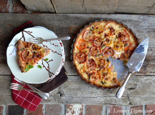 Tomato & Cheddar Pie9