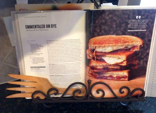 Food & Wine Emmentaler on Rye