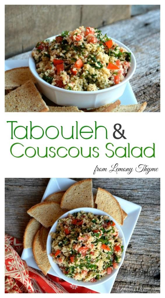 Tabouleh & Couscous Salad | LemonyThyme.com