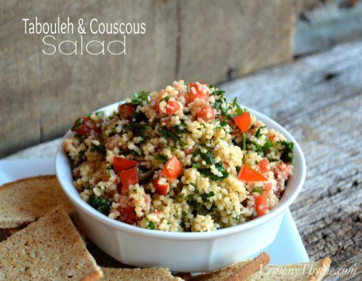 Tabbouleh & Couscous Salad