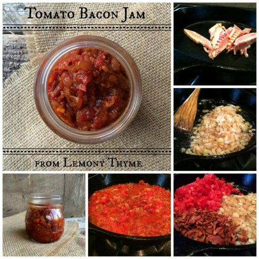 Tomato Bacon Jam from Lemony Thyme