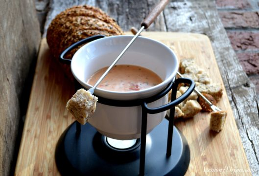 Tomato & Cheese Fondue2