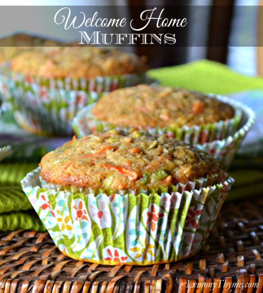 Welcome Home Muffins from Lemony Thyme