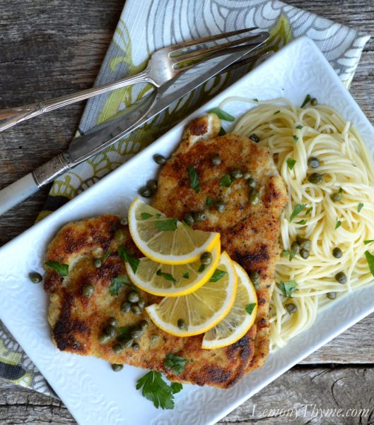 Chicken Piccata from Lemony Thyme