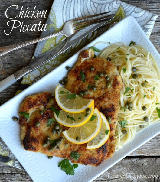 Chicken Piccata from Lemony Thyme1