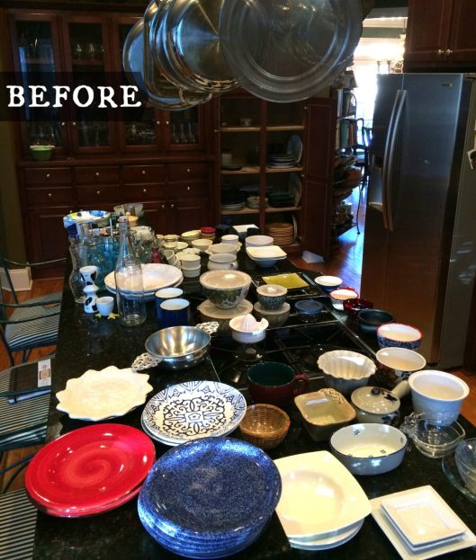 Dishes Before