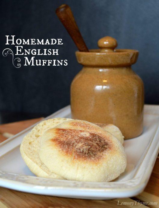 Homemade English Muffins LemonyThyme.com