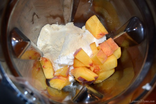 Malted Peach Frappe Ingredients1