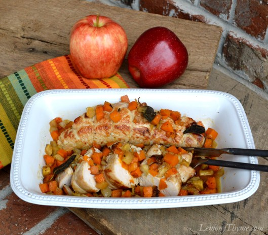 Butternut Squash Apple & Sage Stuffed Turkey Tenderloin7